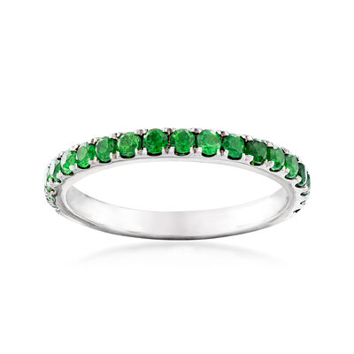 .60 ct. t.w. Green Chrome Diopside Ring in Sterling Silver, , default