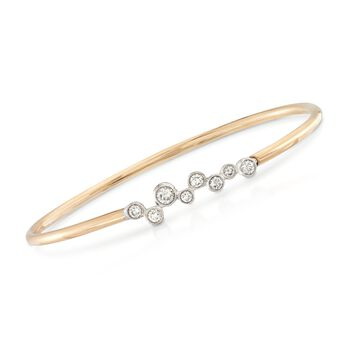 Simon G. Enchantment .56ct t.w. Bezel-Set Diamond Bracelet