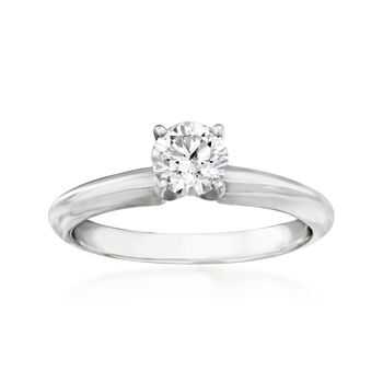 .51 Carat Certified Diamond Engagement Ring in 14kt White Gold