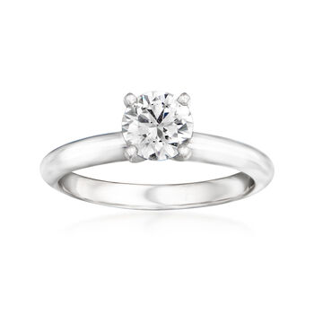 .72ct Certified Diamond Solitaire Engagement Ring in 14kt White Gold