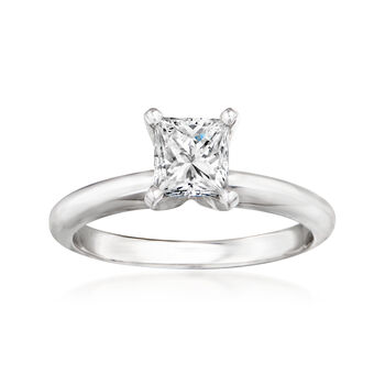 .82 Carat Certified Diamond Engagement Ring in 14kt White Gold