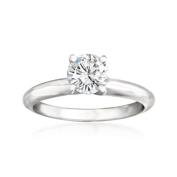 .78ct Certified Diamond Solitaire Engagement Ring in 14kt White Gold