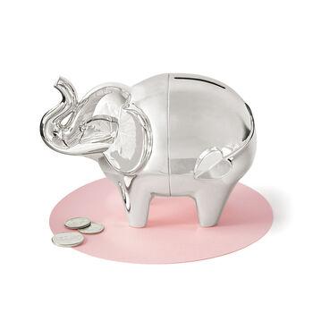 "http://www.ross-simons.com - Vera Wang for Wedgwood ""Love Always"" Elephant Bankplate"
