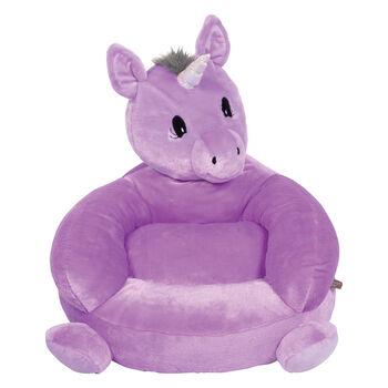 http://www.ross-simons.com - Children's Plush Purple Unicorn Chair