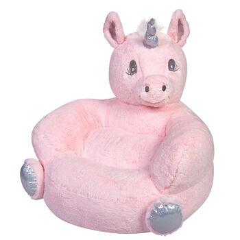 http://www.ross-simons.com - Children's Plush Pink Unicorn Chair