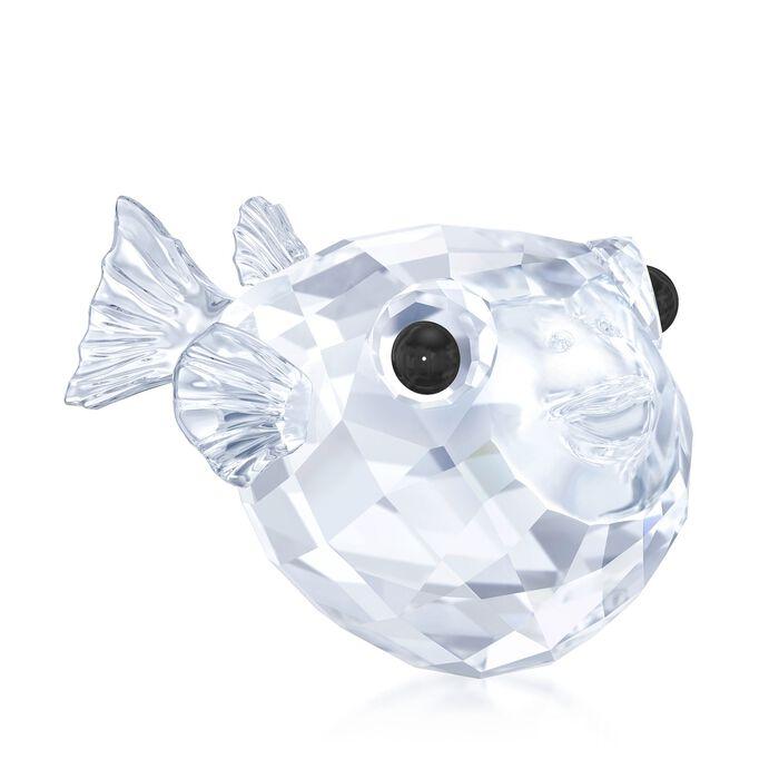 """Swarovski Crystal """"Blowfish"""" Crystal Figurine , , default"""