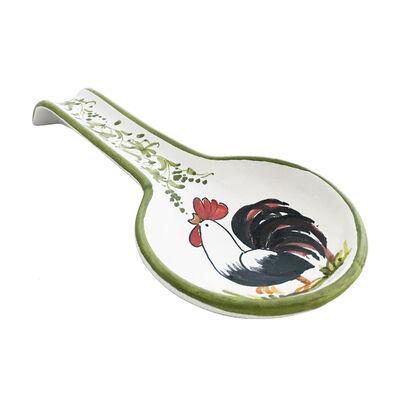"""Abbiamo Tutto Italian """"Gallo-Rooster"""" Ceramic Spoon Rest, , default"""