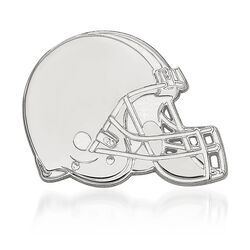 Sterling Silver NFL Cleveland Browns Lapel Pin, , default