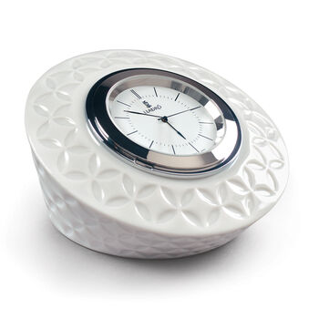 Lladro Porcelain Infinite Round Clock, , default
