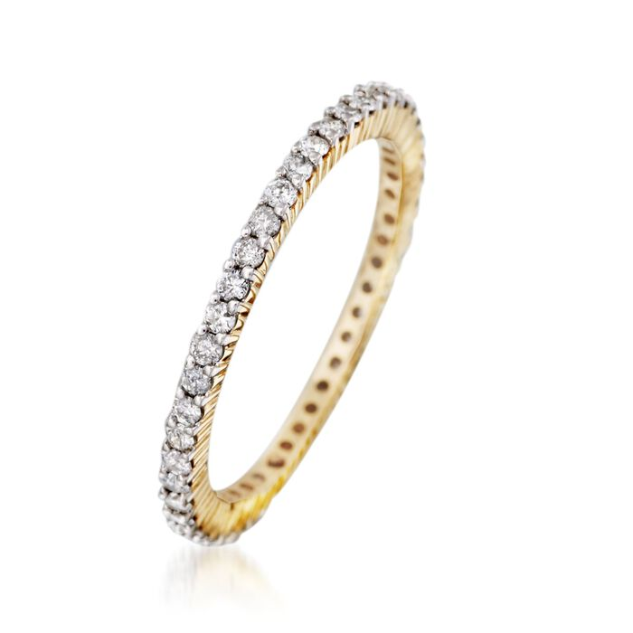 .50 ct. t.w. Diamond Eternity Band in 14kt Yellow Gold