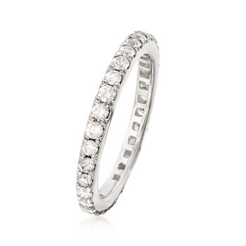 1.00 ct. t.w. Diamond Eternity Band in Platinum