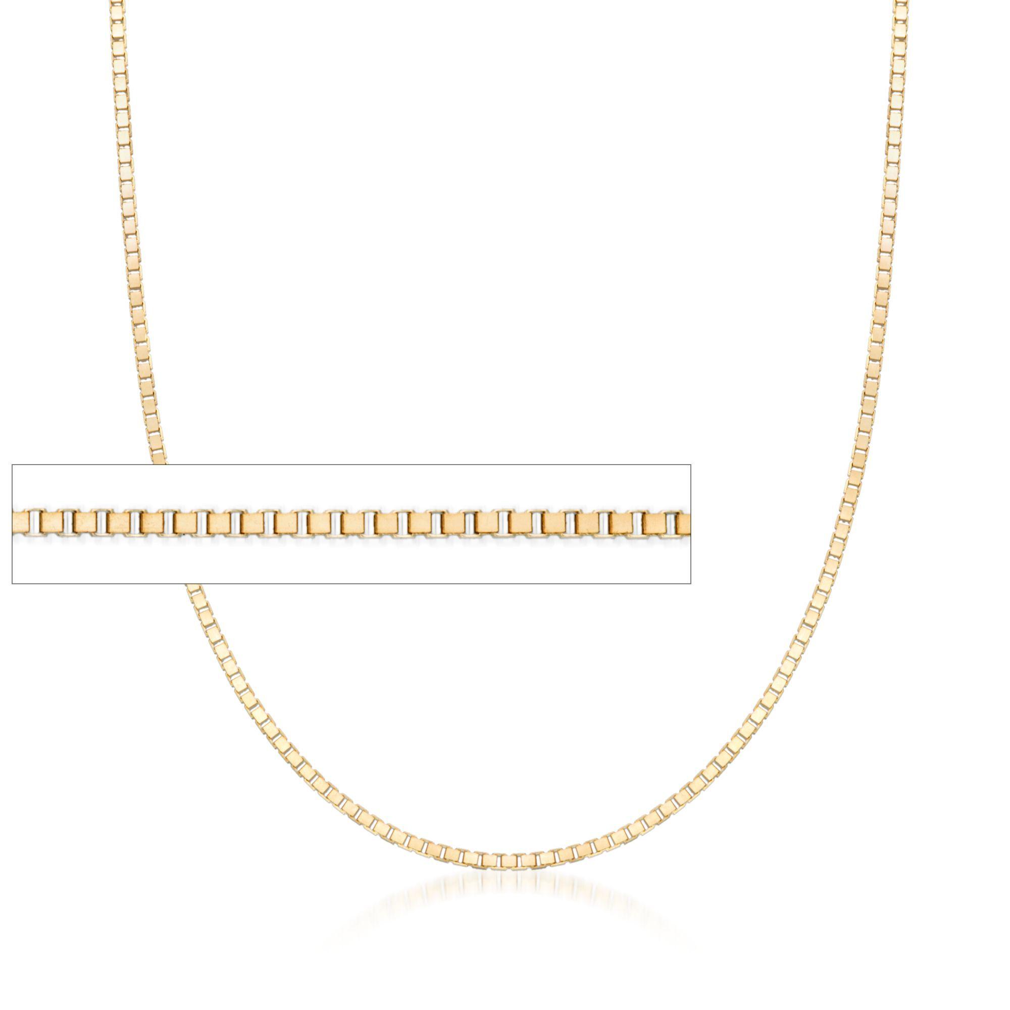 14K White Gold 1.2 Franco Chain in 16 inch 20 inch 24 inch 18 inch