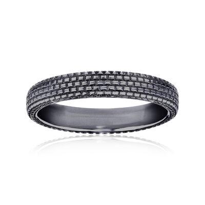Men's Wedding Ring in 14kt White Gold