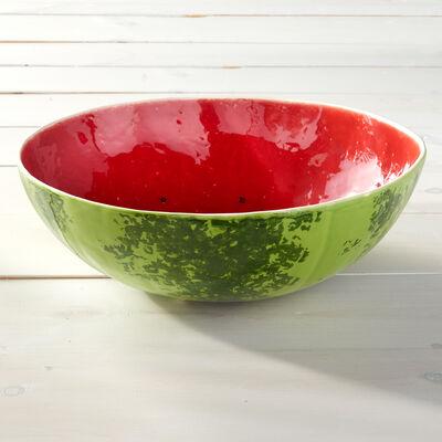 Bordallo Pinheiro Watermelon Serving Bowl, , default