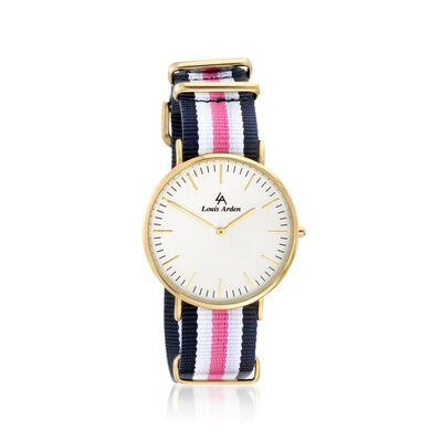 Louis Arden Women's 41mm Goldtone Watch With Two Interchangeable Straps, , default