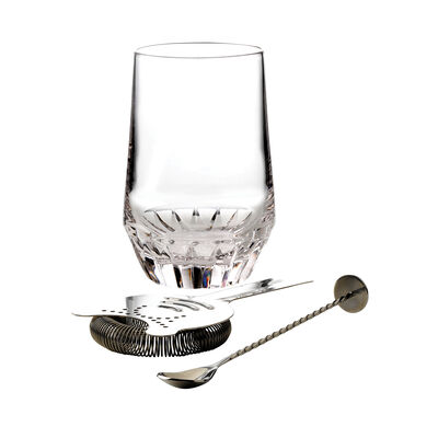 "Waterford Crystal ""Irish Dogs Madra"" Cocktail Pitcher with Stirrer and Strainer, , default"