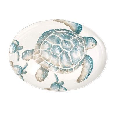 "Vietri ""Tartaruga"" Large Oval Platter from Italy"