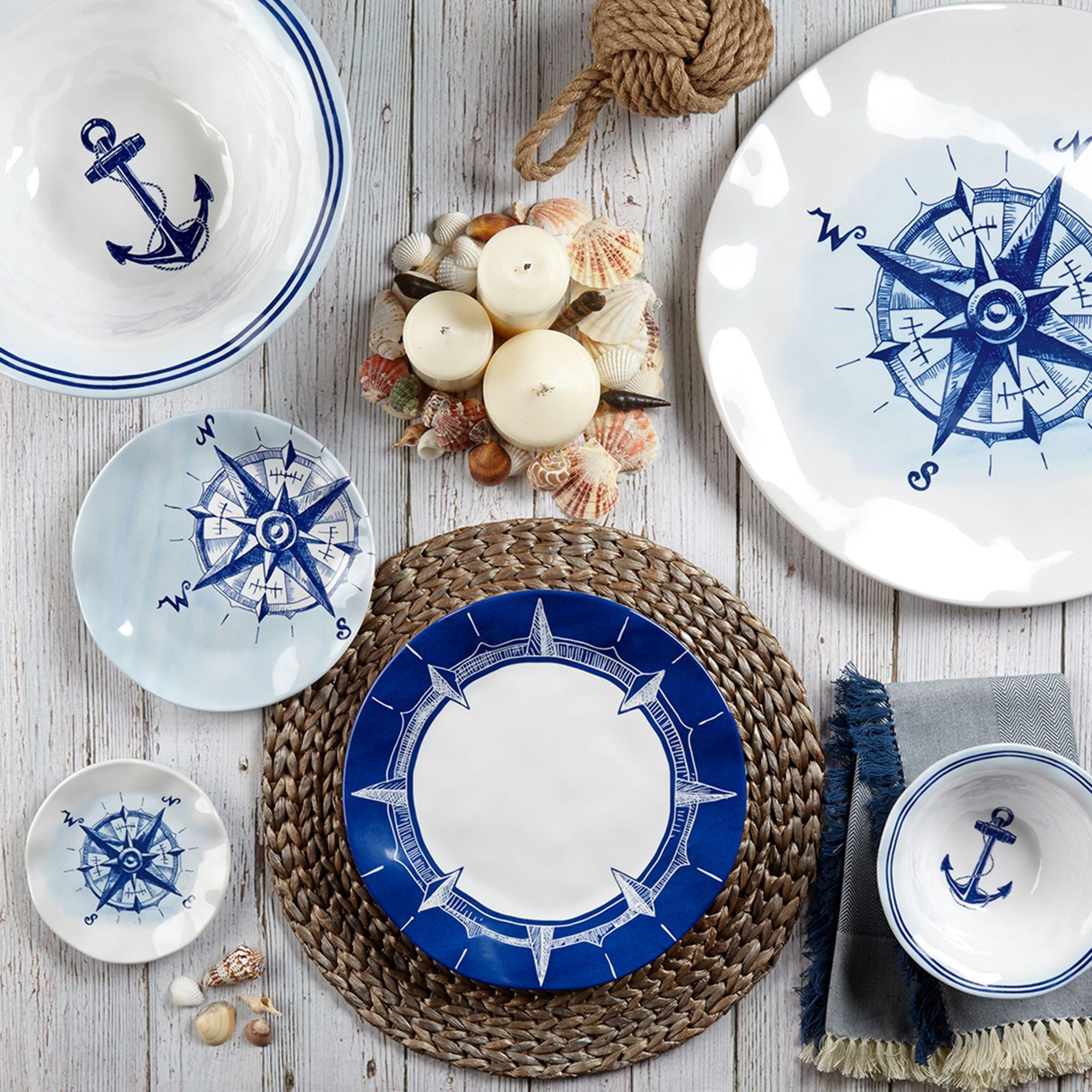 \u0026quot;Portsmouth\u0026quot; Melamine Dinnerware  default & Portsmouth\