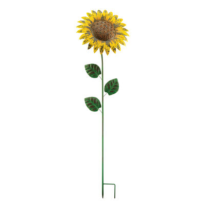 Regal Giant Rustic Sunflower Garden Stake