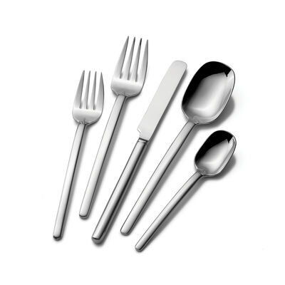 "Mikasa ""Zena"" 45-pc. Service for 8 Flatware Set, , default"