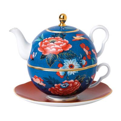 "Wedgwood ""Paeonia Blush"" Tea for One, , default"