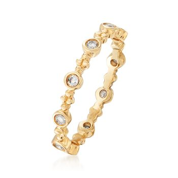 .22 ct. t.w. Diamond Eternity Band in 14kt Yellow Gold, , default
