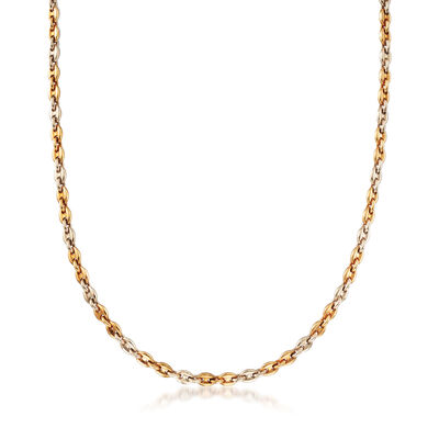C. 1980 Vintage Cartier 18kt Yellow Gold Cable-Link Necklace, , default