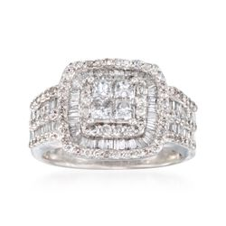 1.50 ct. t.w. Diamond Ring in 14kt White Gold, , default
