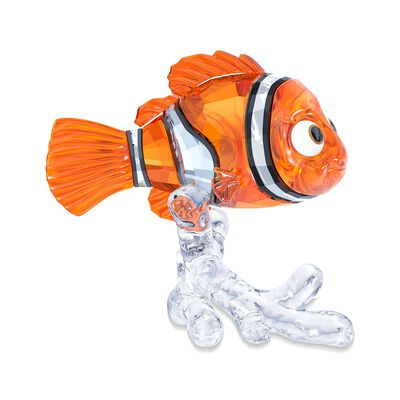 "Swarovski Crystal ""Disney's Nemo"" Orange and Clear Crystal Figurine, , default"
