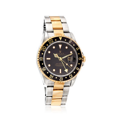 Pre-Owned Rolex Gmt-Master II Men's 40mm Automatic Watch in Two-Tone, , default