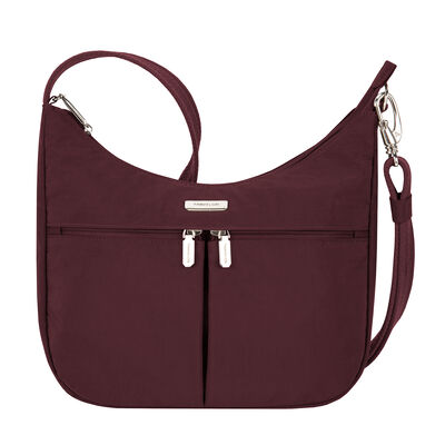 Anti-Theft Essential East-West Red Hobo Bag