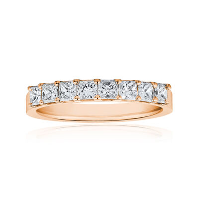 1.90 ct. t.w. Princess-Cut Diamond Ring in 14kt Rose Gold, , default