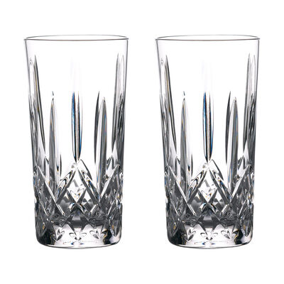 """Waterford Crystal """"Gin Journeys"""" Set of Two Lismore Highball Glasses, , default"""