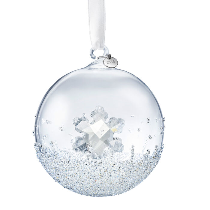 Swarovski Crystal 2019 Christmas Ball Ornament