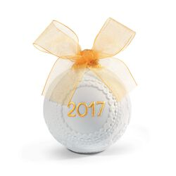 "Lladro 2017 Annual ""Re-Deco"" Porcelain Ball Ornament , , default"