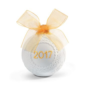 "Lladro 2017 Annual ""Re-Deco"" Porcelain Ball Ornament, , default"