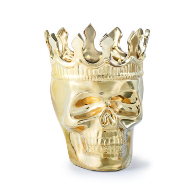 "Thompson Ferrier ""Monte Cristo Wood Charnel Bonaparte"" Skull Candle, , default"