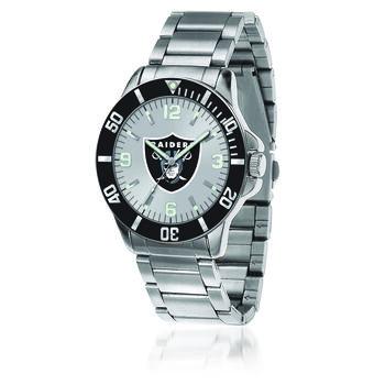 Men's 46mm NFL Oakland Raiders Stainless Steel Key Watch, , default
