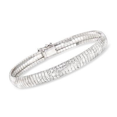 """Charles Garnier """"Cleopatra"""" Sterling Silver Bracelet"""