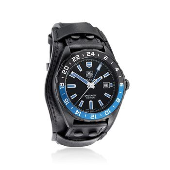 TAG Heuer David Guetta Special Edition Formula 1 Men's 43mm Black Stainless Steel Watch, , default