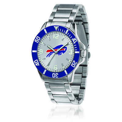 Men's 46mm NFL Buffalo Bills Stainless Steel Key Watch