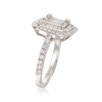 1.15 ct. t.w. Diamond Ring in 18kt White Gold