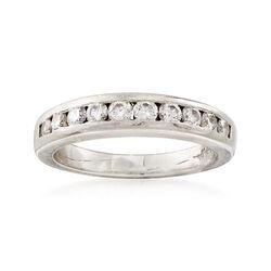 C. 1990 Vintage .55 ct. t.w. Diamond Ring in Platinum, , default