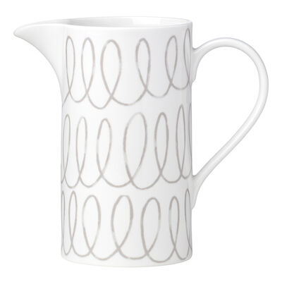 "Kate Spade New York ""Charlotte Street West"" Gray Pitcher"