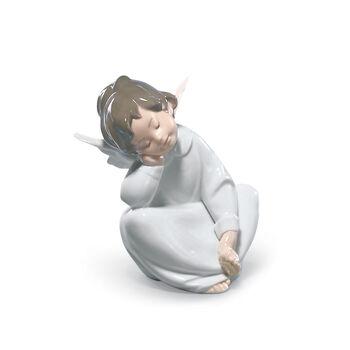"Lladro ""Angel Dreaming"" Porcelain Figurine , , default"