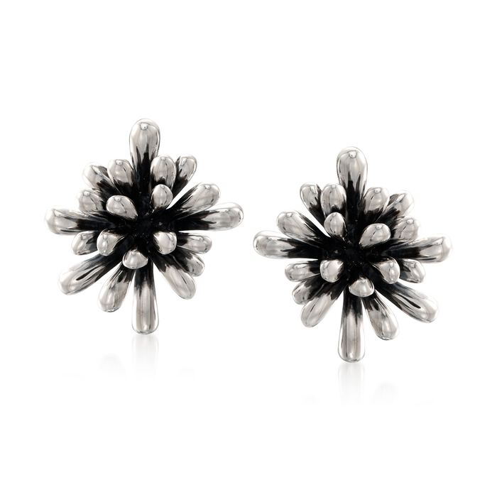 "Zina Sterling Silver ""Fireworks"" Clip-On Earrings, , default"