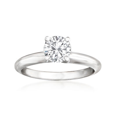 .78 Carat Certified Diamond Solitaire Engagement Ring in 14kt White Gold