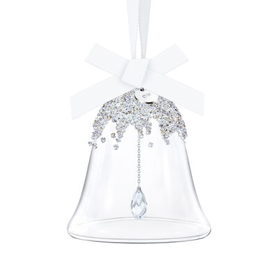"Swarovski Crystal ""Christmas Bell"" Small Ornament, , default"