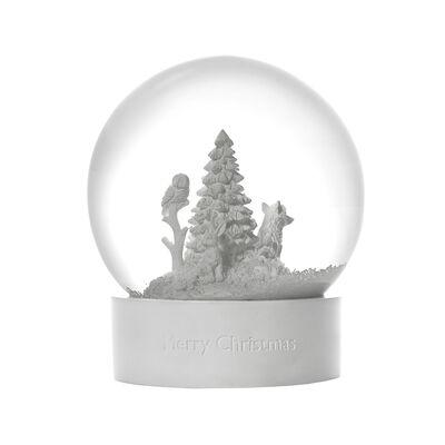 Wedgwood Holiday Snow Globe, , default