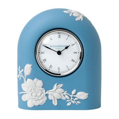 "Wedgwood ""Magnolia Blossom"" Clock, , default"